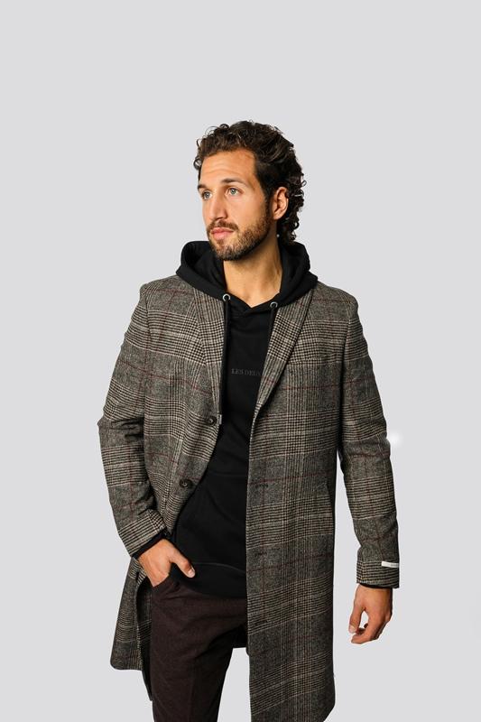 Coat Madison Wool Check