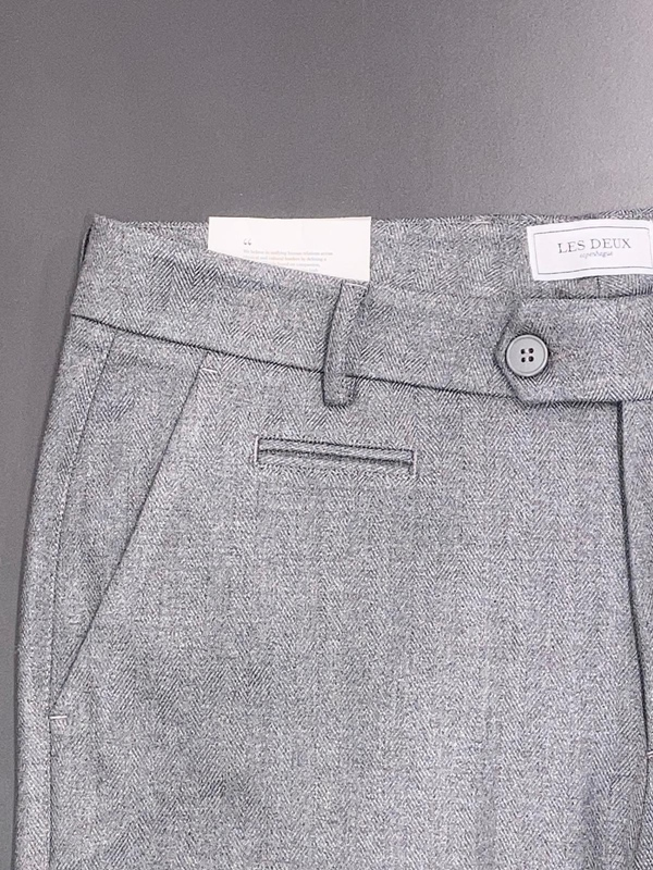 Como Herringbone Pants