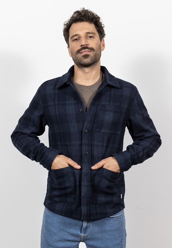 Jason Check Overshirt